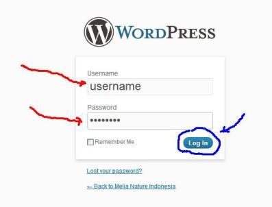 Cara Login ke Meliaindo.com 7