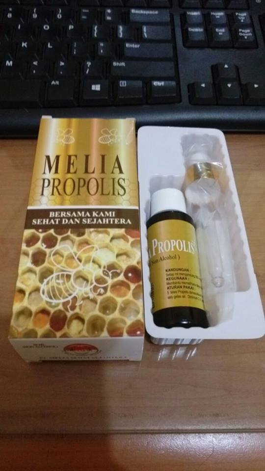 Melia propolis ukuran 55ml